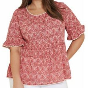Hello baby doll blouse. F/ 280